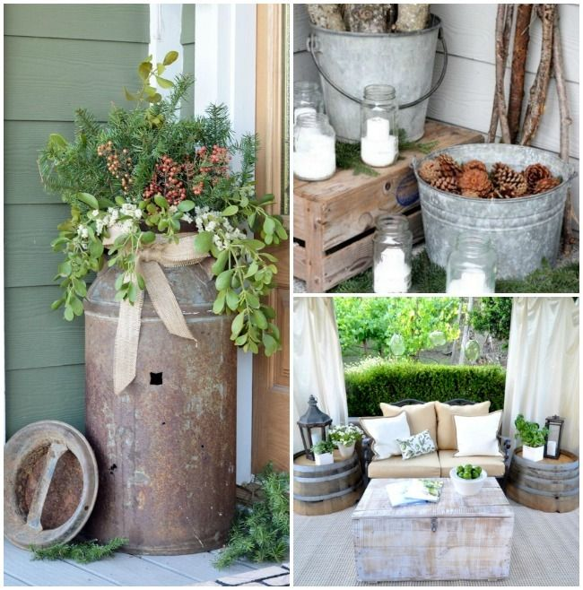 Rustic Home Furnishings And Mexican Garden Decorations By: 1000+ Ideas About Rustic Patio On Pinterest