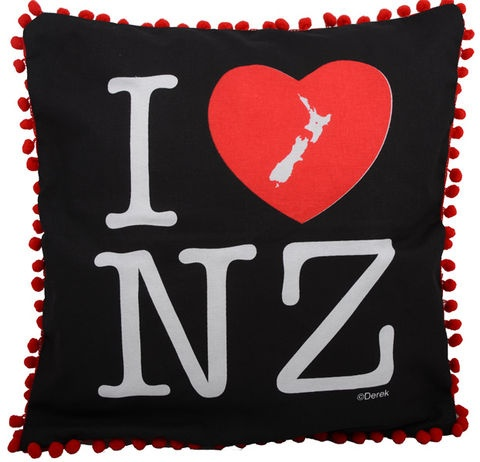 I Love NZ Cushion Cover