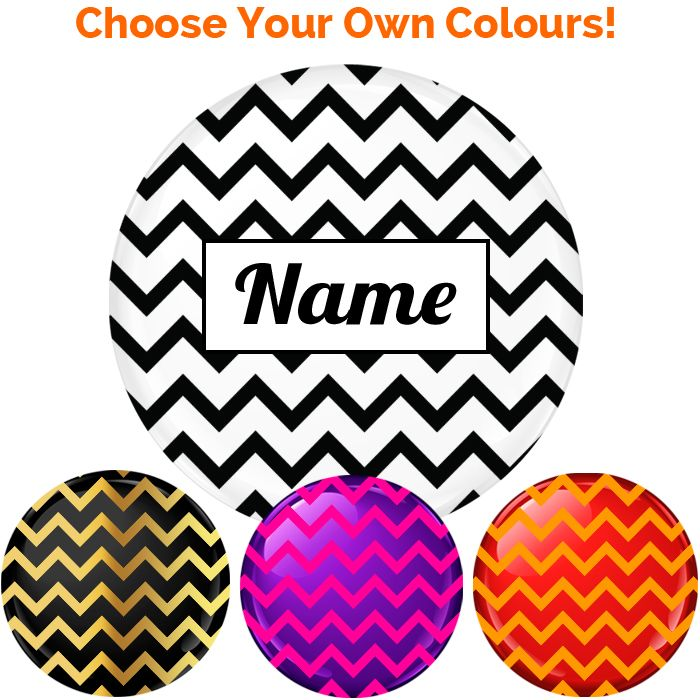 Name Badge - Create Your Own #016 - 75mm