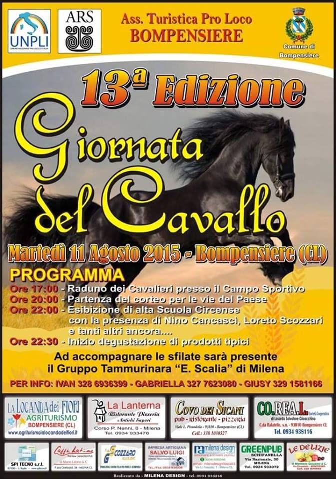 Torna a #Bompensiere la Giornata del Cavallo giunta alla 13° edizione. #typicalsicily http://www.typicalsicily.it/events/44/evento-a-bompensiere-giornata-del-cavallo/…