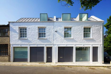 Robert Dye Architects extends a London mews home by pushing out a wall | IKEA Decoration