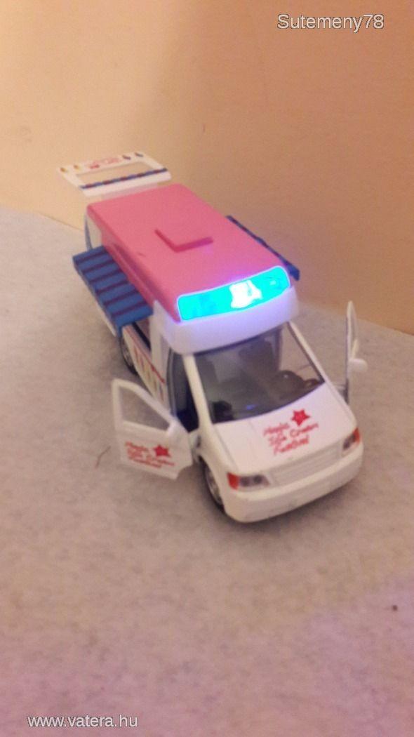 BS Játék - Interaktív fagylaltos autó / fagylaltos kocsi - kihúzható tetőkkel - zenével, fénnyel - 1500 Ft - Nézd meg Te is Vaterán - Egyéb - http://www.vatera.hu/item/view/?cod=2508566711
