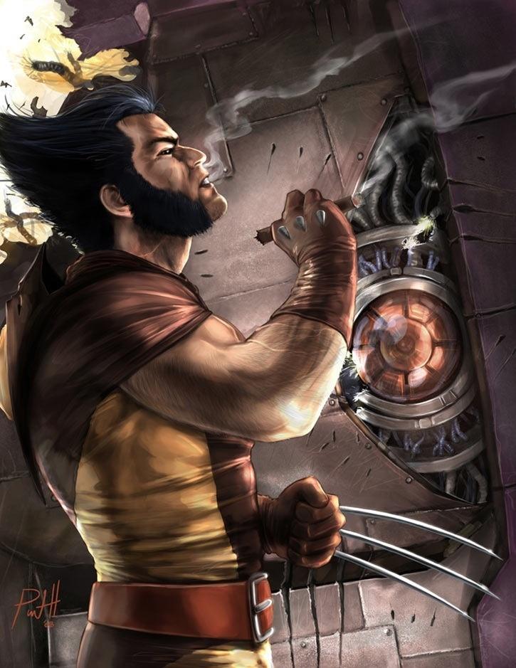 Wolverine. He's always been my favorite          x men character!