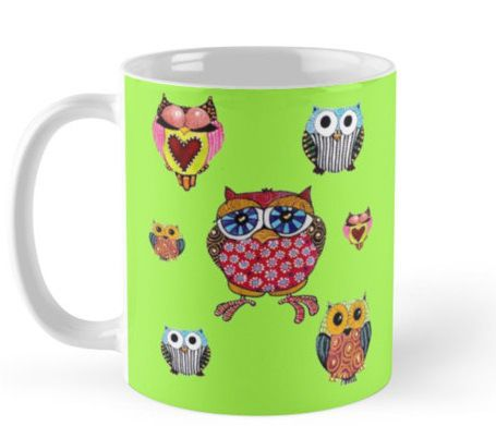 Owl Mug  #StockingFillers #Christmas2015