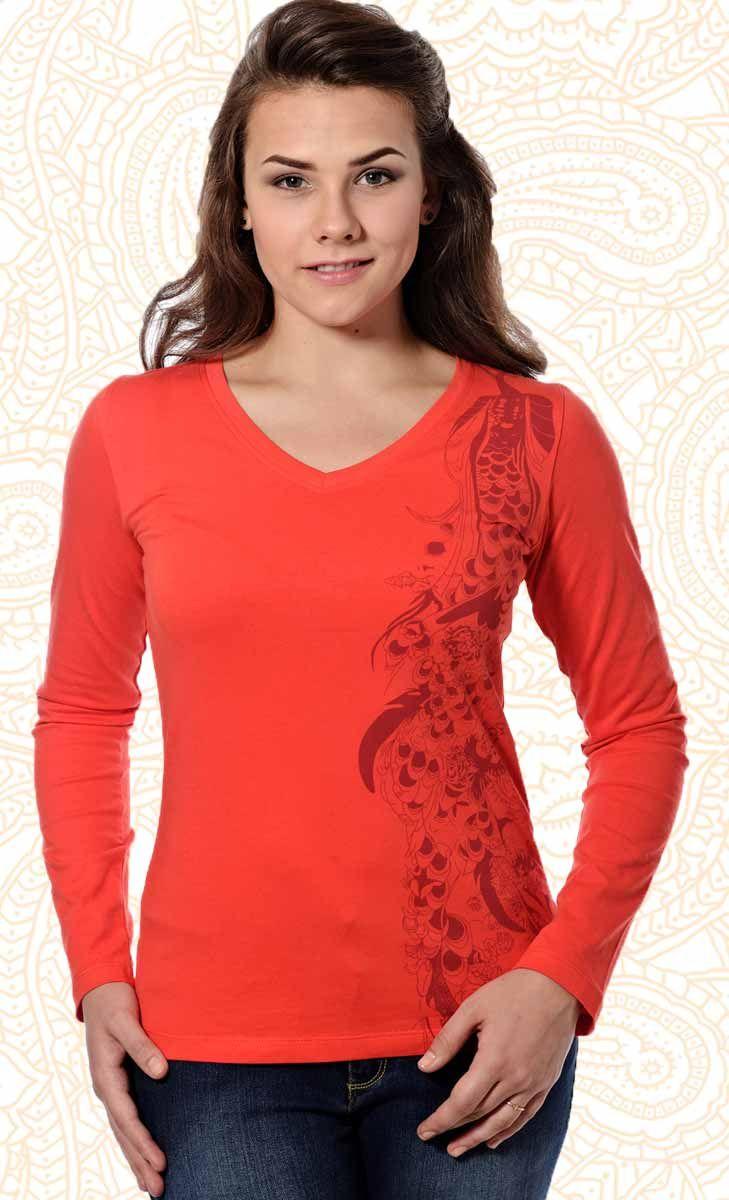 Long Sleeve Solid Colour Printed T shirts | Mavango Fashion eStore