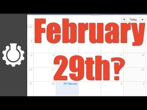 Leap Year video - good explanation