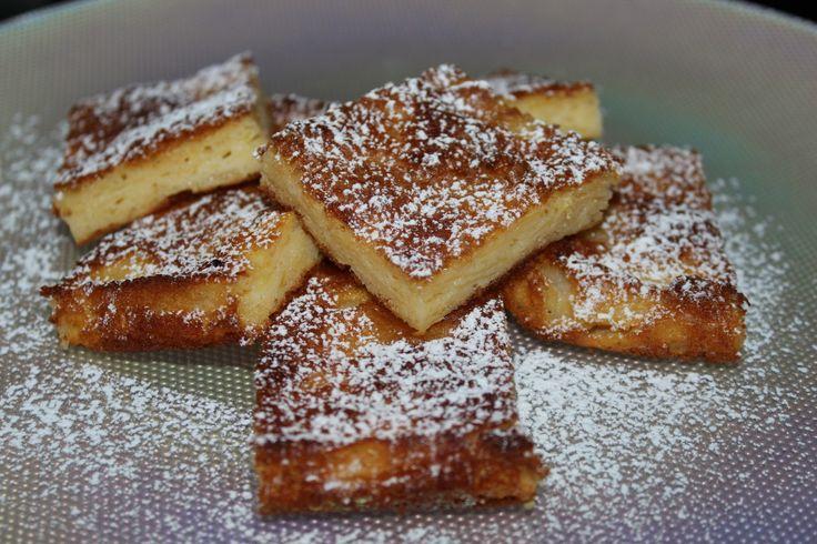 Le ricette della nostra Federica, i quadrotti di mele.