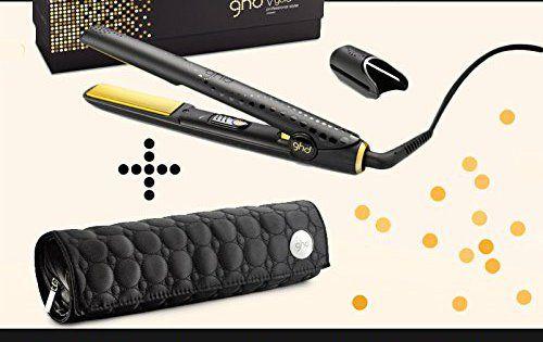 Ghd – Fer A Lisser Styler Gold Plaque Moyenne classic avec Pochette Ghd Ronde: NOUVEAU FER A LISSER STYLER GHD GOLD CLASSIC STYLER…