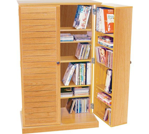 Buy Beech Multimedia Storage Cupboard at Argos.co.uk, visit Argos.co.uk to shop online for CD, video and DVD storage, Bookcases, shelves and DVD storage, Storage, Home and garden
