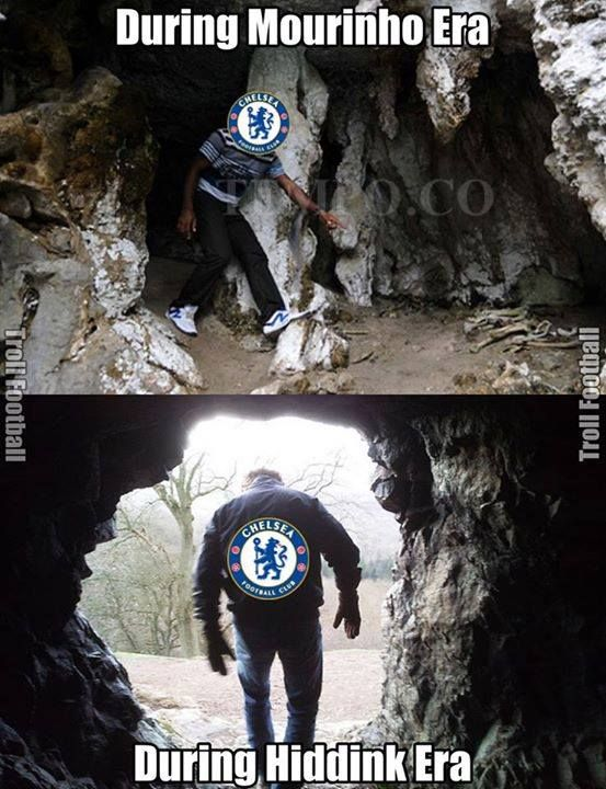 Chelsea Football Club fans this season  Credits: Troll Football Indonesia(TFI)