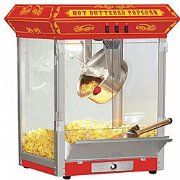Are You Looking for a Home Theater Popcorn Machine? A home theater popcorn machine is a fun addition to your family room. On movie night you can invite some friends over and serve them theater style popcorn from your own home popcorn machine. Now