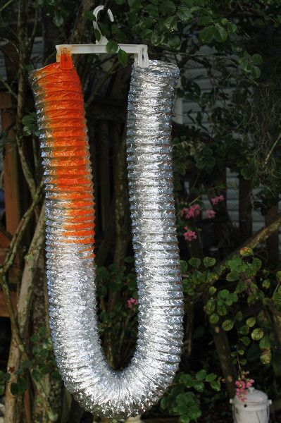 dryer vent pumpkin paint