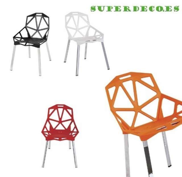 17 mejores ideas sobre sillas modernas de comedor en - Kenay home malaga ...