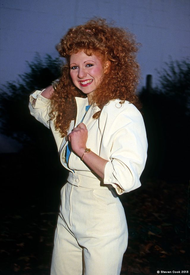 Bonnie Langford - London, 1986.  Bonnie Langford in one of her first outings as Mel, companion to both the sixth and seventh Doctors, Colin Baker and Sylvester McCoy.