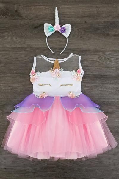 PREORDER- Lavender Deluxe Unicorn Tutu Dress