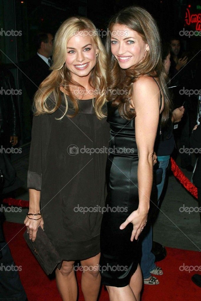 Jessica Collins and Rebecca Gayheart at the premiere of Why Did I ...