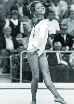 Olga Korbut - we gasped, we cried, we cheered!  She is why I joined Berkhamsted Gymnastics Club