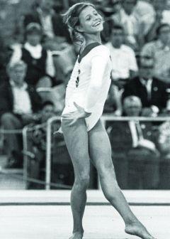 Olga Korbut - we gasped, we cried, we cheered!  She is why I joined Berkhamsted Gymnastics Club