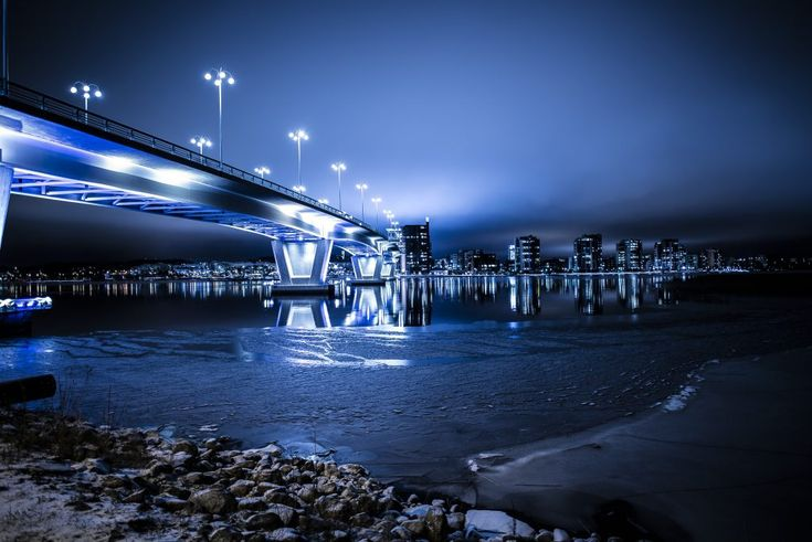 Download this free photo here www.picmelon.com #freestockphoto #freephoto #freebie /// White-shining Bridge   picmelon