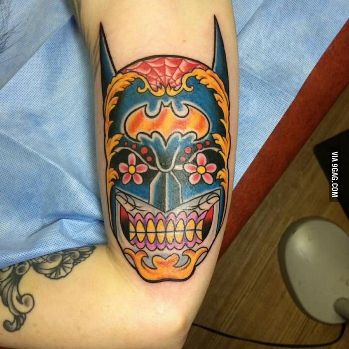 17 best images about batman tattoo designs on pinterest for Single needle tattoo artists near me
