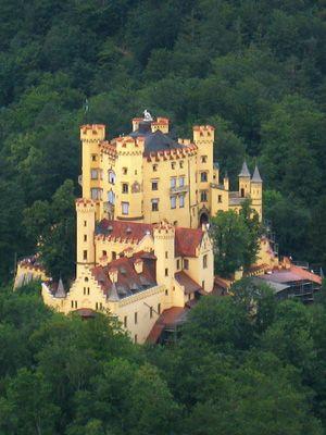 Hohenschwangau Castle in Bavaria September 24, 2011