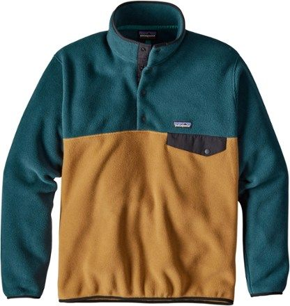 Patagonia Men's Lightweight Synchilla Snap-T Fleece Pullover Oaks Brown XXL