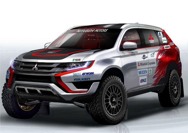 --Mitsubishi เตรียมส่ง Outlander PHEV ลงสนามแข่งหฤโหดอีกครั้ง--