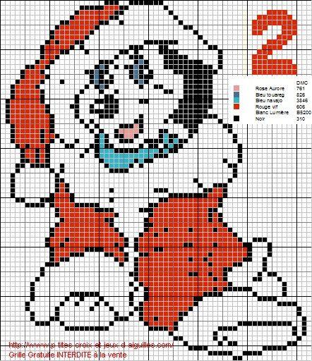 Pour la deuxième grille du calendrier de l'Avent, coté Disney ça sera un dalmatien, le voici :