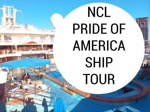 Pride of America Ship Tour & Walk Through | Hawaii cruise - YouTube
