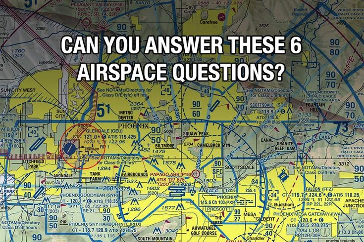 Quiz: Can You Answer These 6 Airspace Questions? via boldmethod