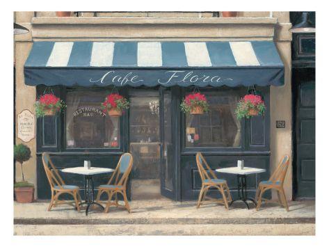 Cafe Flora Giclee Print by Marco Fabiano at eu.art.com