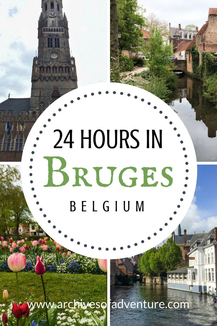 While it does take a few days to get the real feel of the city, it is still possible to see a lot of the city with just 24 hours in Bruges. #Travelingeurope