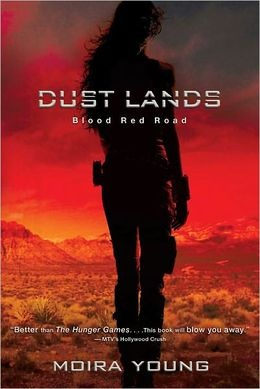 Blood Red Road (Dust Lands Series #1).  If you liked Hunger Games, you will like this.  The second book in the series, Rebel Heart was published this last Sept.