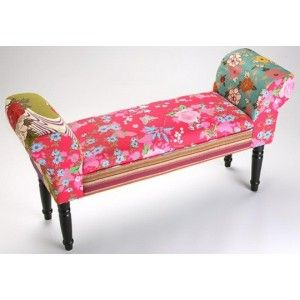Banco cama Flower