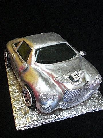 Pastry Palace Las Vegas - Bentley Auto Groom's Cake #434