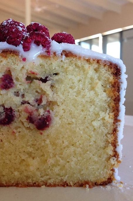 Photo of Coconut Loaf with Freeze Dried Raspberries