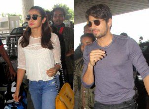 Alia Bhatt and Sidharth Malhotra get ready for another vacation