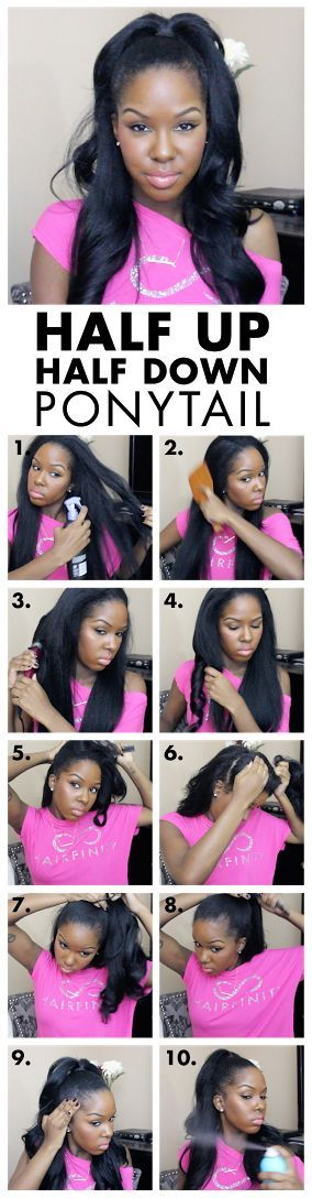 5 Easy Hairstyles For Lazy Days  #Days #easy #hairstyles #Lazy