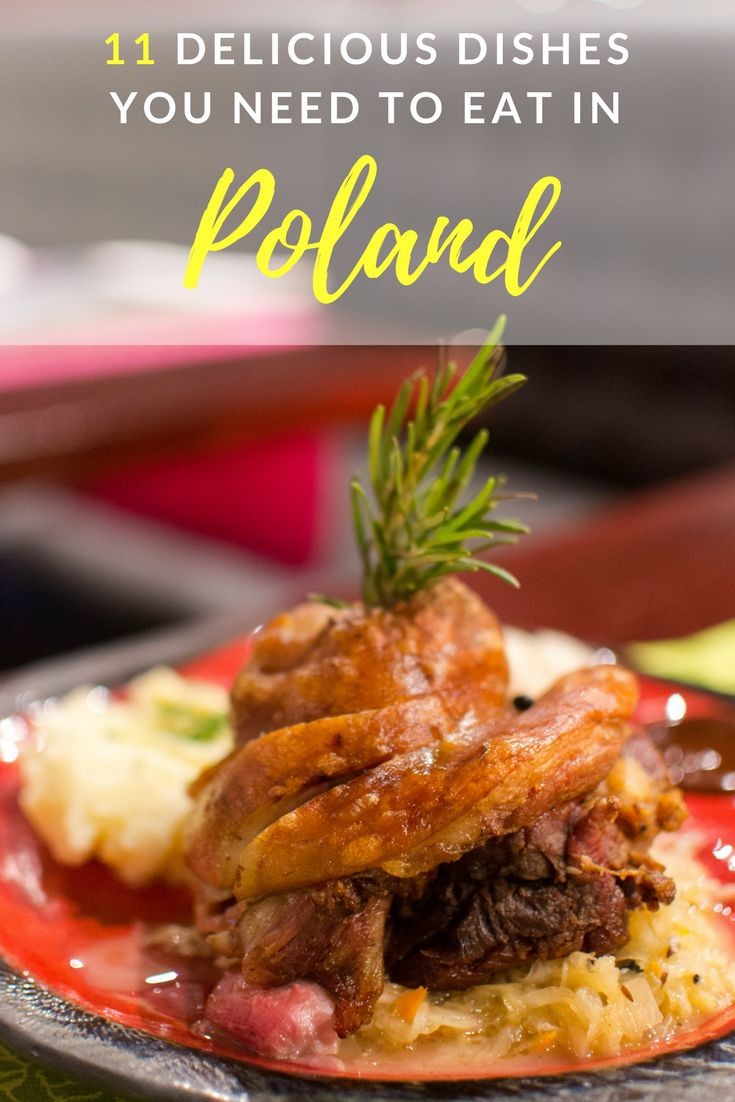 A trip to Poland would be incomplete without sampling some of the country's traditional and tasty dishes.  We've put together this list of 11 delicious dishes that you need to eat in Poland. Ravenous Travellers | Travel Blog