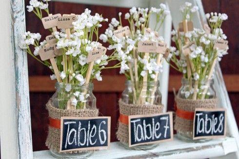 table plan pot de fleur