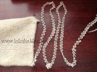 Curly Tilda Hair- Great idea if you know how to knit.