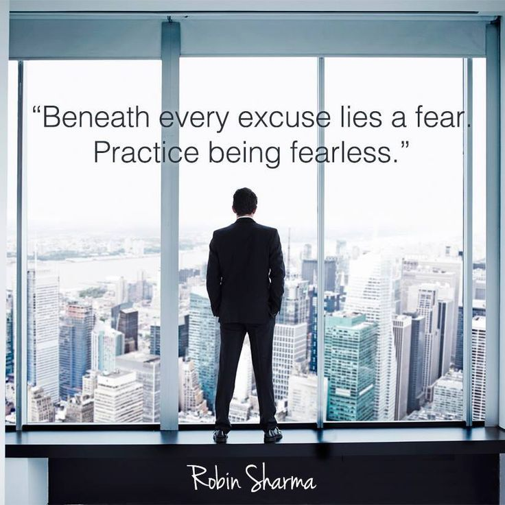 20 Robin Sharma Quotes On FEAR That Will Make You FEARLESS Personal Developmental Quotes #Quote