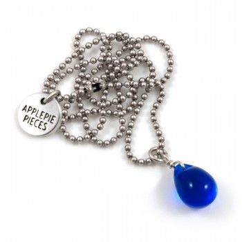"""""""Happy Tears are words the heart can not express."""" http://applepiepieces.com/shop/en/kettingen/happy-tear-ketting-montana.html"""
