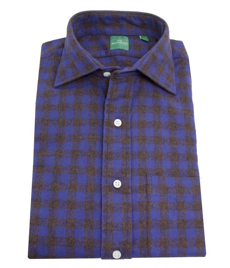 Sid Mashburn Spread Collar Sport Shirt / SidMashburn.com
