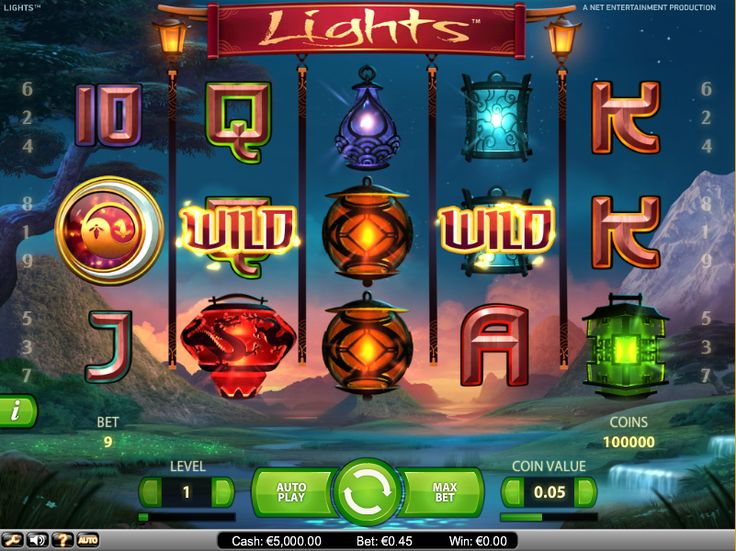 The Lights Slot is the latest addition by Net Entertainment, which offers an exciting array of features that will provide players with the chance to win up to 90,000 coins.