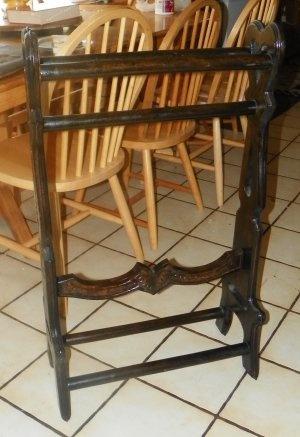 59 best Quilt racks images on Pinterest | Quilt ladder, Tutorials ... : pine quilt rack - Adamdwight.com
