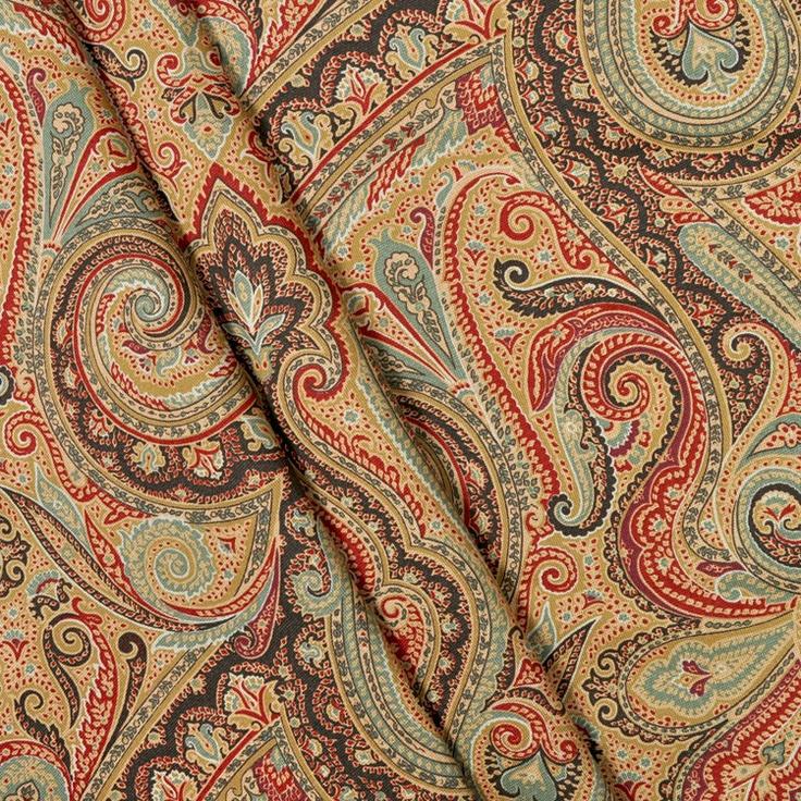 Ralph Lauren Hera Paisley Champagne Fabric