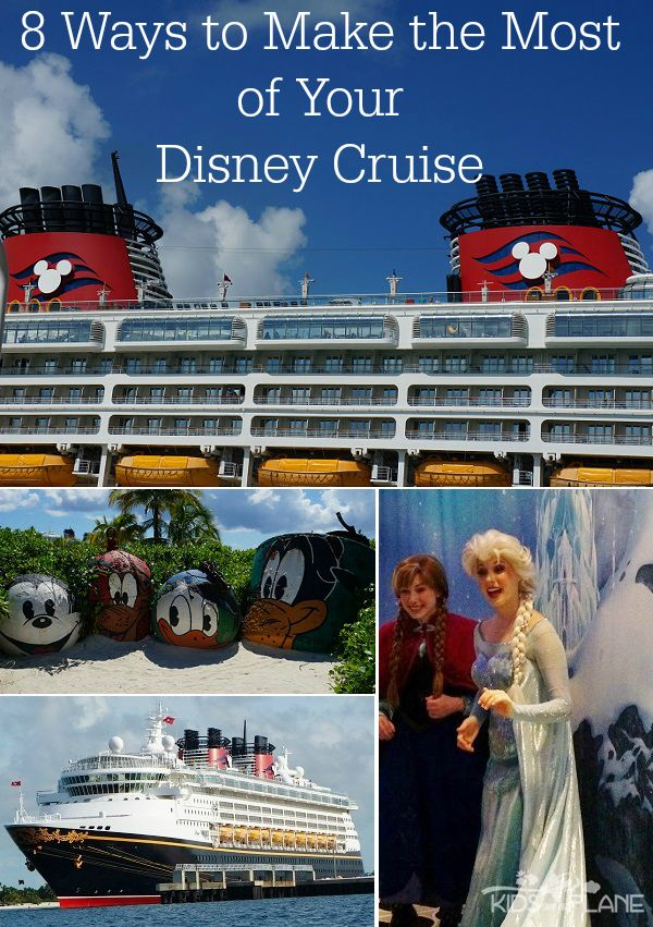 Heading out on a Disney Cruise this Spring Break? Here are 8 travel tips to help you make the most of your Disney Cruise. | #KidsOnAPlane #TravelTips #DisneyCruise #DisneyTips #DisneyCruiseTips #DisneyCruiseLine #SpringBreak #SpringBreakFun #Disney