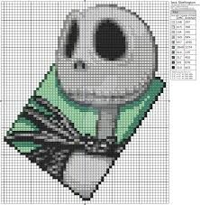 Image result for free nightmare before christmas cross stitch patterns
