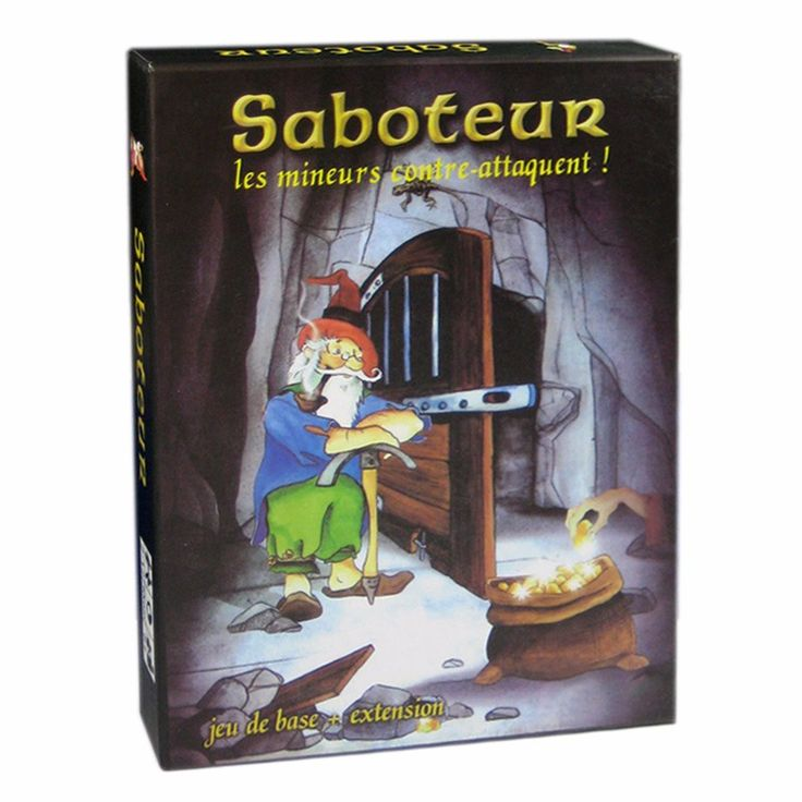 3 Options  Miner Game Table Game Saboteur 1 2 3 The Duel For 2 Players Card Game Family Party Indoor Board Game #Affiliate